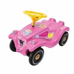 BIG Detské odrážadlo Bobby Classic auto so zvukom ružové Girlie