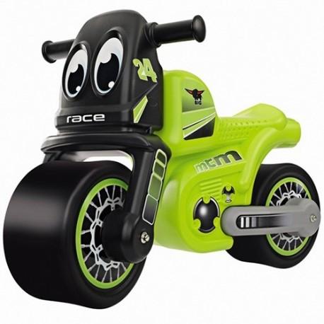 BIG Detské odrážadlo motorka Racing Bike zelené