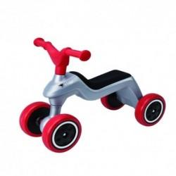 BIG Detské odrážadlo Rider s gumenými kolesami strieborné