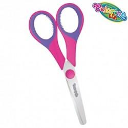 Colorino Kids detské nožnice - ružovo-fialové