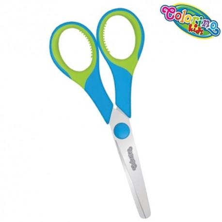 Colorino Kids detské nožnice - modro-zelené