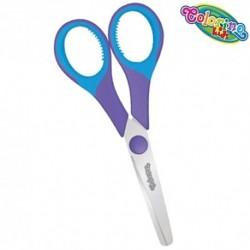 Colorino Kids detské nožnice - fialovo-modré