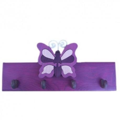 Detský vešiak - motýl' fialový