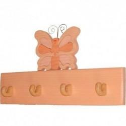 Detský vešiak - motýl' oranžový