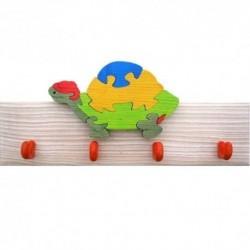 Detský vešiak - korytnačka modrá