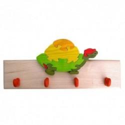 Detský vešiak - korytnačka oranžová