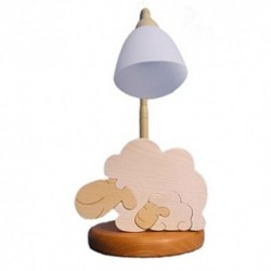 Detská stolná lampa - ovečka