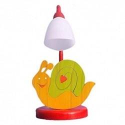 Detská stolná lampa - slimáčik