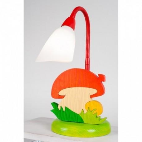Detská stolná lampa - hríbik