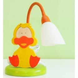 Detská stolná lampa - kačka