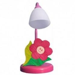 Detská stolná lampa - kvietok fialový