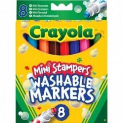 CRAYOLA farebné pečiatkové fixky 8ks