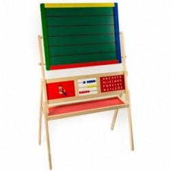 Drevená obojstranná tabuľa na písanie - stredne-veľká