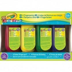 Crayola - prstové farby - 4 tuby