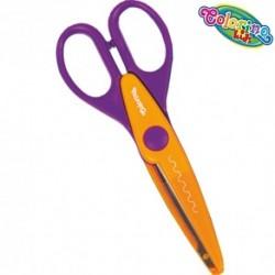 Colorino Kids nožnice pre deti - kreatívne č.4