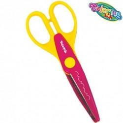 Colorino Kids nožnice pre deti - kreatívne č.6