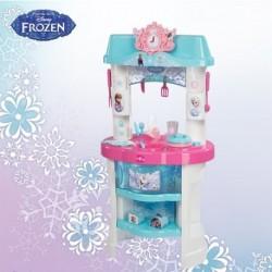 SMOBY detská kuchynka Frozen + 22 doplnkov