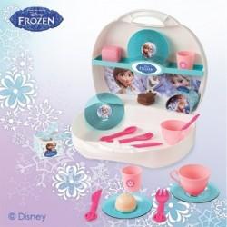 SMOBY prenosná cukráreň v kufríku Frozen + 19 doplnkov