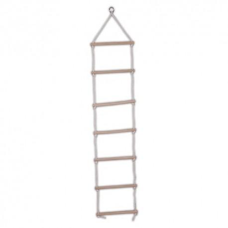 Detský rebrík na lezenie natur - 7 schodíkov