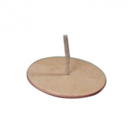 Detská drevená hojdačka - tanier