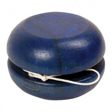 Drevené jojo malé - modré