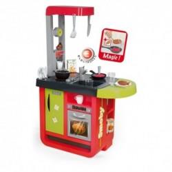 SMOBY elektronická moderná kuchynka CHERRY SPECIAL + 25 doplnkov
