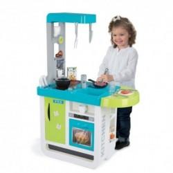 SMOBY elektronická moderná kuchynka CHERRY + 25 doplnkov
