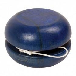 Drevené jojo vel'ké - modré