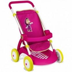 SMOBY detský športový kočík pre bábiku Máša a Medveď