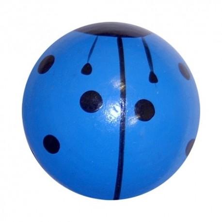 Drevené jojo lienka - modré