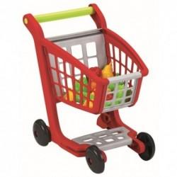 ÉCOIFFIER detský nákupný vozík s 13 doplnkami