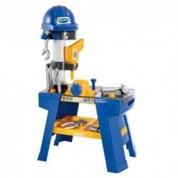 ÉCOIFFIER detská pracovná dielňa s prilbou Mecanics + 25 doplnkov