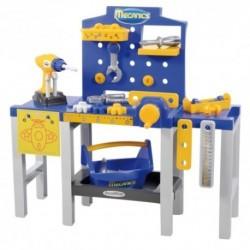 ÉCOIFFIER detská pracovná dielňa Mecanics + 31 doplnkov