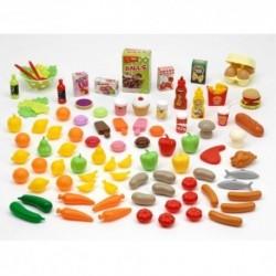 ÉCOIFFIER detský set potravín do kuchynky 100-dielny