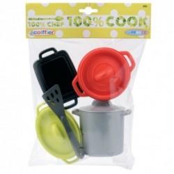 ÉCOIFFIER detský set hrncov 100% Chef Cook