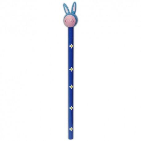 Drevená ceruzka so zvieracou hlavou - Somárik