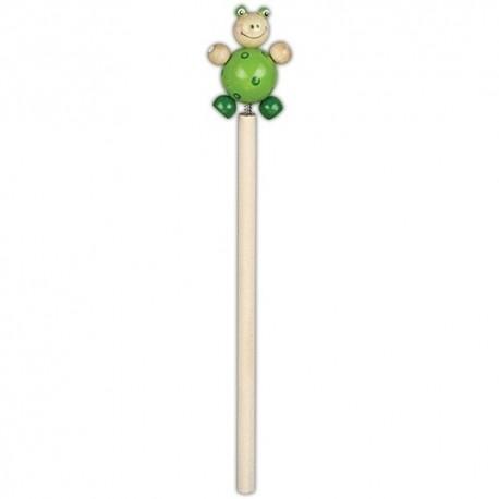 Drevená ceruzka so zvieratkom - Žabka