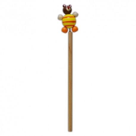 Drevená ceruzka so zvieratkom - Macko