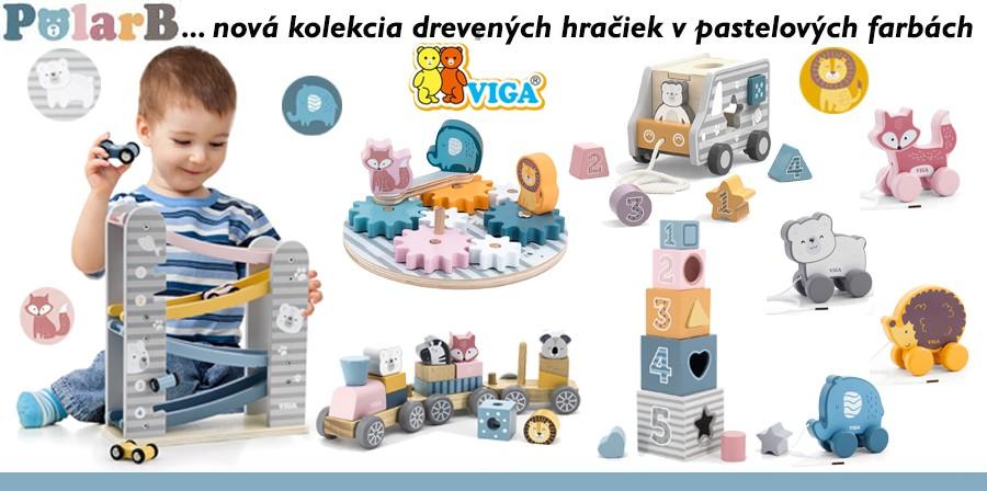 PolarB drevené hračky