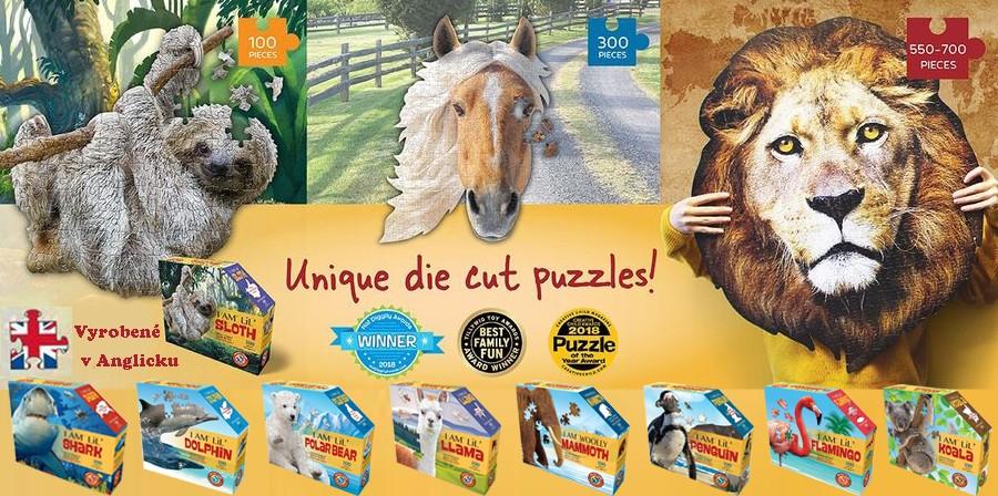 WOW detské puzzle zvierat
