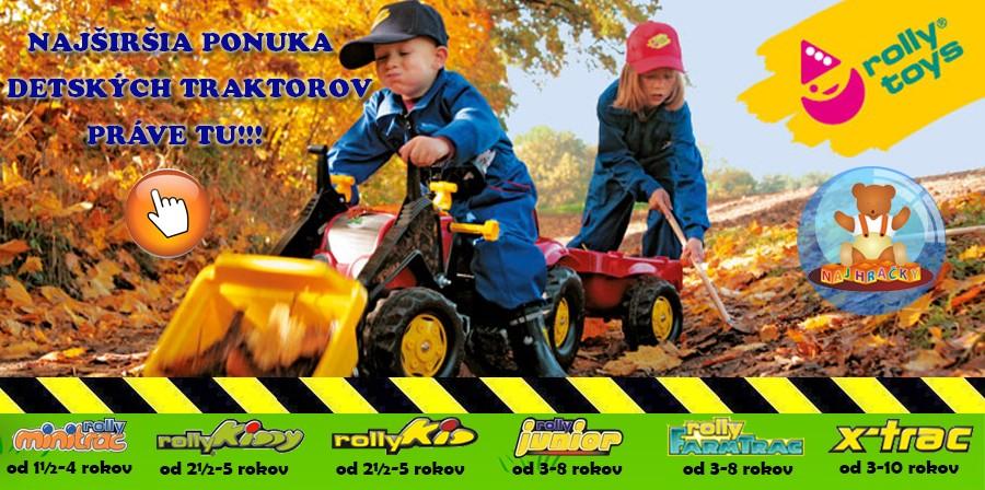 Detské traktory