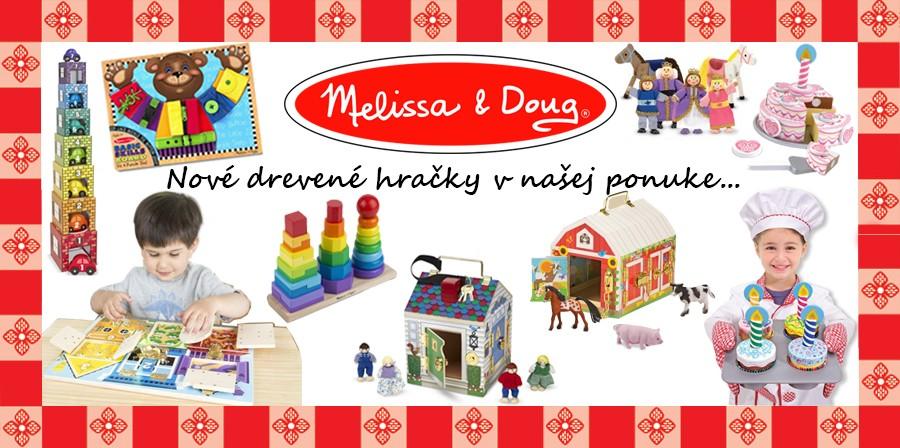 Melisa Doug drevené hračky