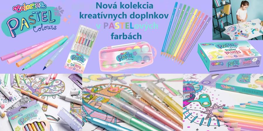 Colorino Kids Pastel séria
